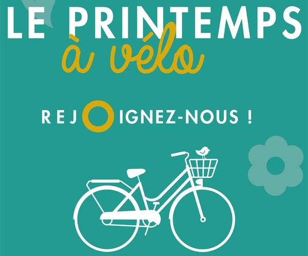 Organisation par le club d'une manifestation le 29 mai 2021 « le printemps à vélo »