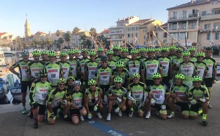 Le Club de Sanary cyclo sports septembre 2021